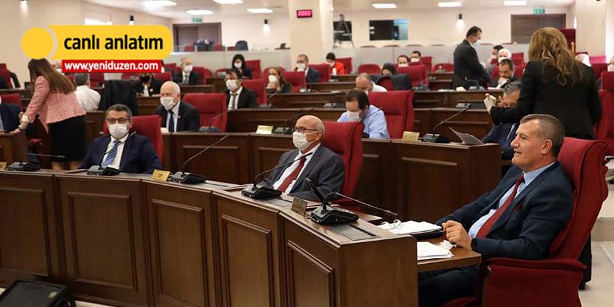 'Sosyal mesafeli' Meclis oturumu