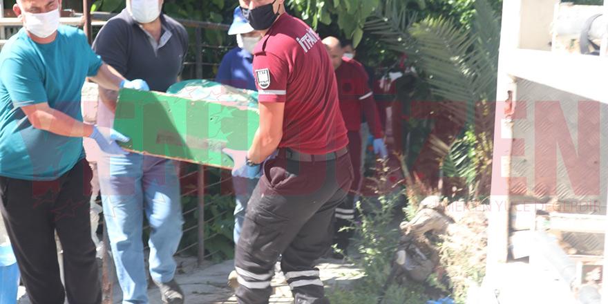 Mağusa'da ev yangını, 1 ölü
