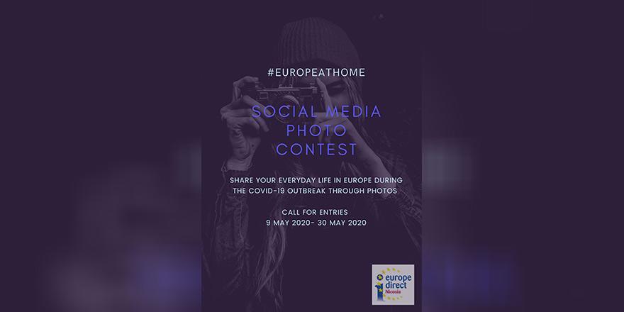 #europeathome fotoğraf yarışması başladı