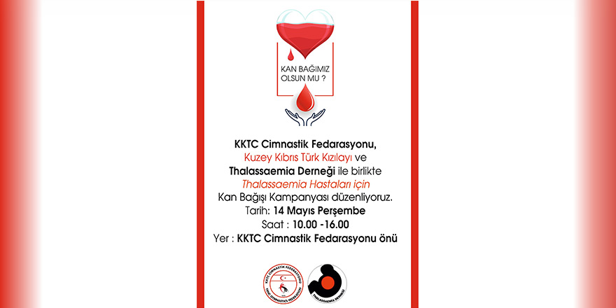 Kan bağışı için kampanya