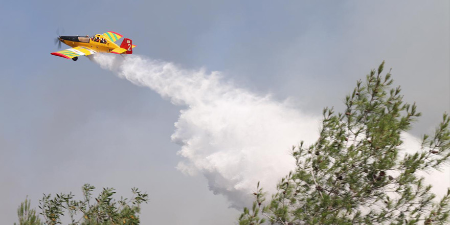 Yine 'yangın uçağı' istendi