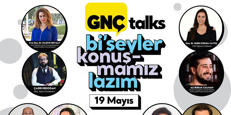 """""""GNÇ Talks"""" ile ödüllü söyleşiler"""