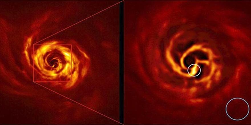 Bilim insanları yeni bir gezegenin oluşumunu görüntüledi