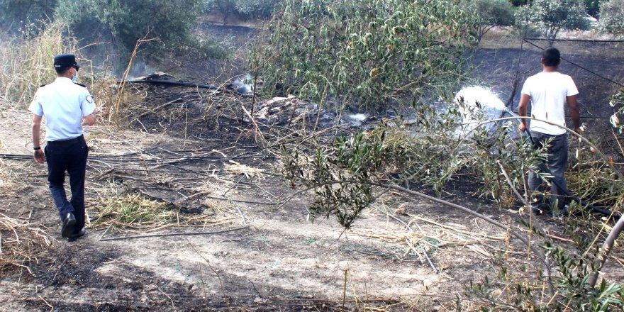 Edremit'teki yangın kontrol altında