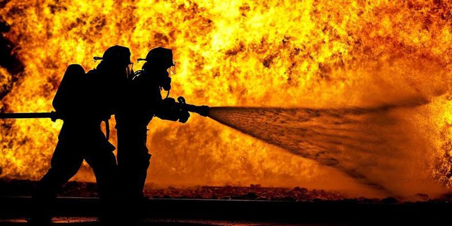 Kalkanlı'da yangın
