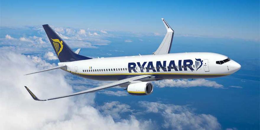 Ryanair uçuşlara başlıyor
