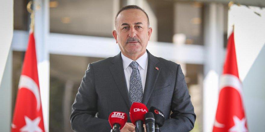 Çavuşoğlu: Doğu Akdeniz'de Türkiye'yi dışladılar