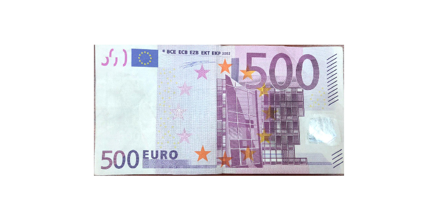 """Polis: """"Sahte 500 Euro'ya dikkat!"""""""