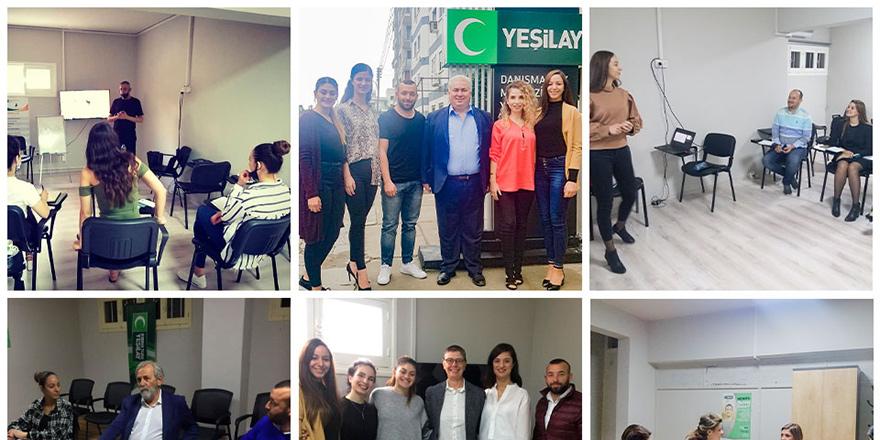 Kıbrıs YEDAM uzmanları eğitimlere katılıyor