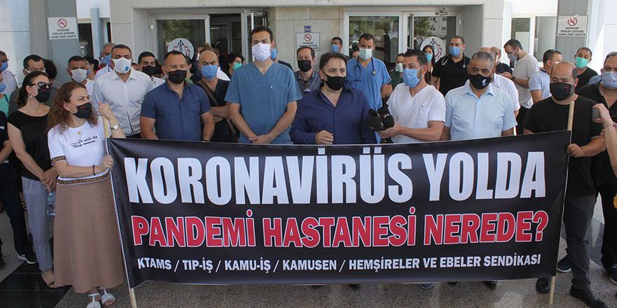 'Devlet Hastanesi'ni kaosa sürüklemeyin'