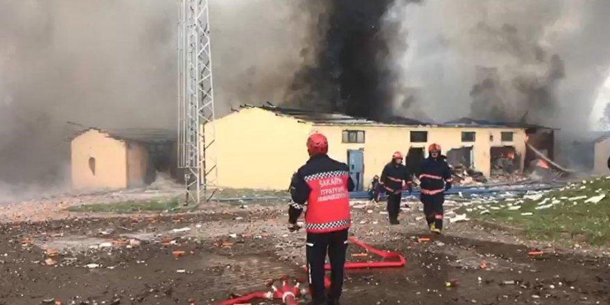 Sakarya'da havai fişek fabrikasında patlama: 4 kişi yaşamını yitirdi, 97 yaralı