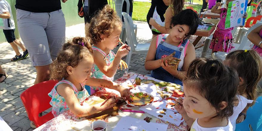"""Yeniboğaziçi """"Çocuk Sanat Atölyesi"""" etkinlikleri başladı"""