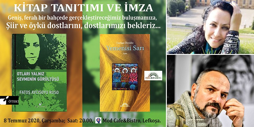 Fatoş Avcısoyu Ruso ile Ceyhan Özyıldız'dan kitaplar ve imza günü