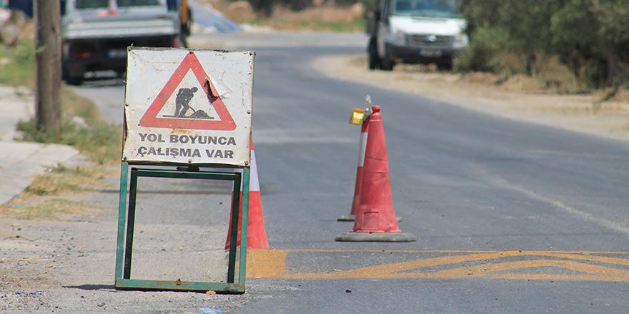 Alayköy çevre yolunun Güzelyurt istikametine olan kısmı, trafik akışına kapatıldı
