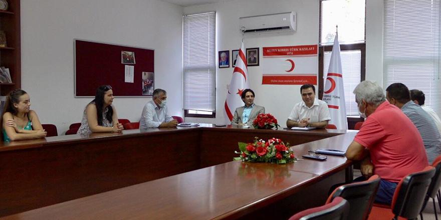 Kuzey Kıbrıs Kızılayı'nda görev bölümü yapıldı