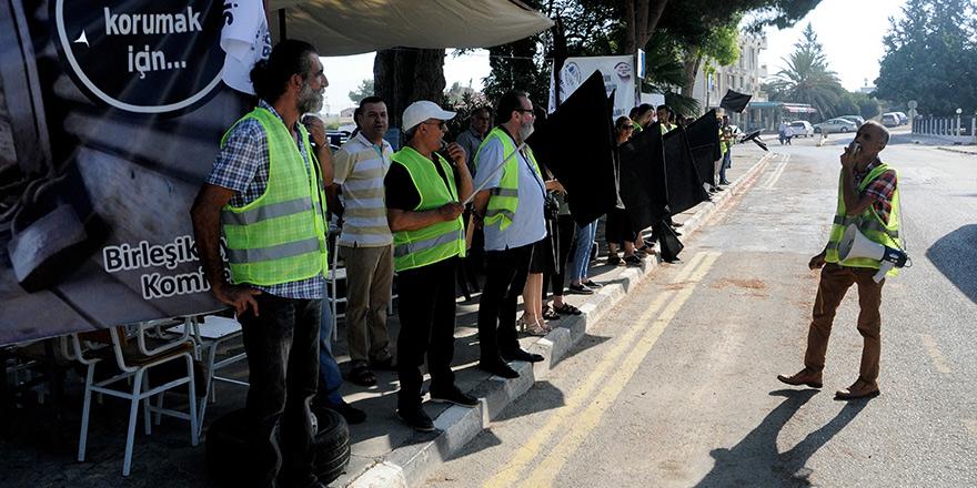 Birleşik Eylem Komitesi çadır eylemlerini sonlandırdı