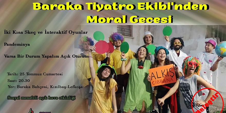 Baraka'dan moral gecesi