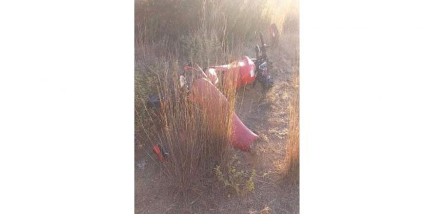 Akdeniz'de motosiklet kazası: 1 ölü