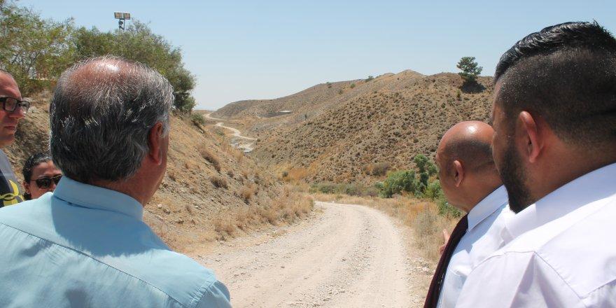 Görneç ile Kalavaç arasındaki toprak yol asfaltlanıyor