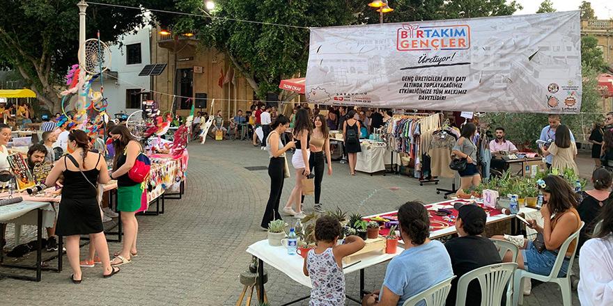 Genç üreticiler, Lefkoşa'da buluştu