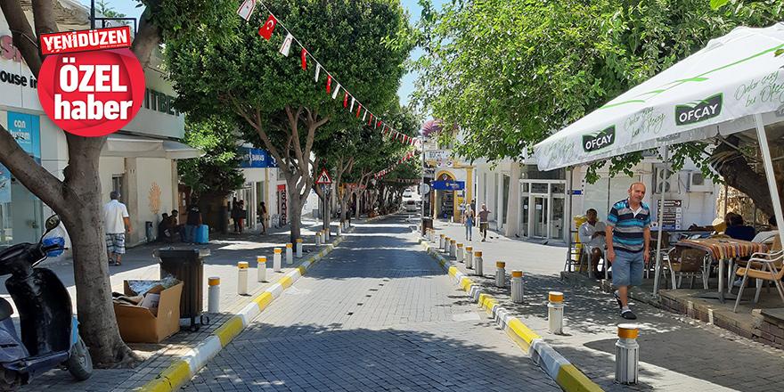 Girne'de 'bayram havası' yok