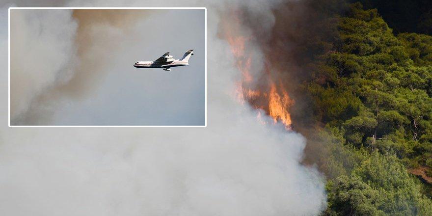 Türkiye'deki yangınlar kısmen kontrol altında