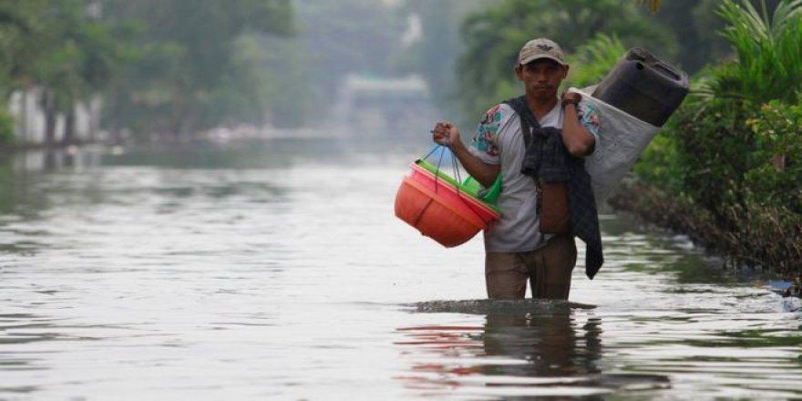 23 milyon kişi sel ve taşkınlara maruz kalacak
