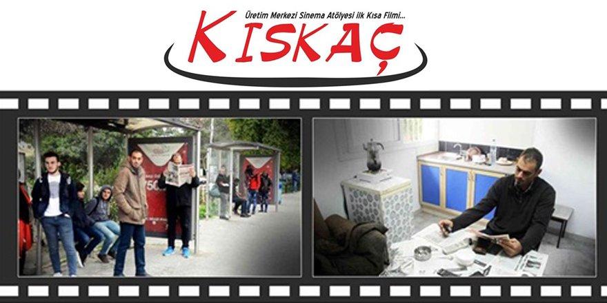 """Kısa film """"Kıskaç"""" seyirci ile buluşuyor"""