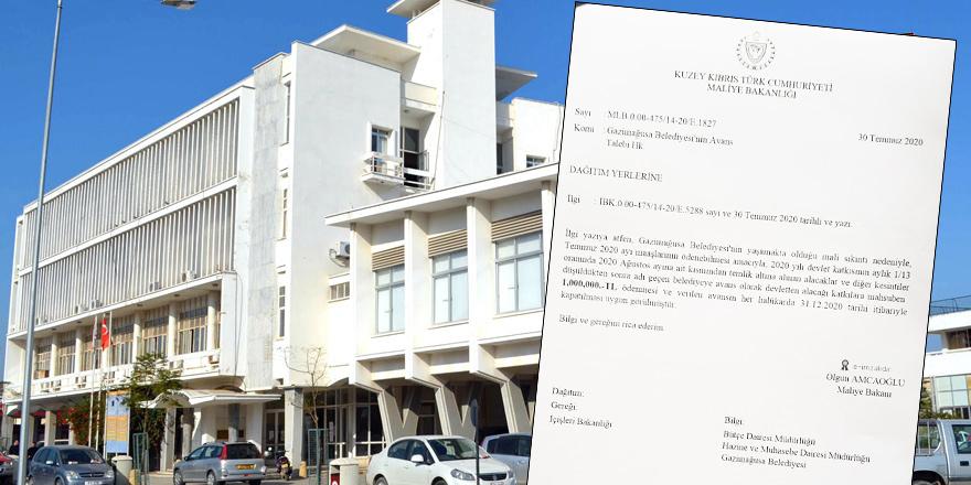 Mağusa Belediyesi: Mali sıkıntı ve avans!
