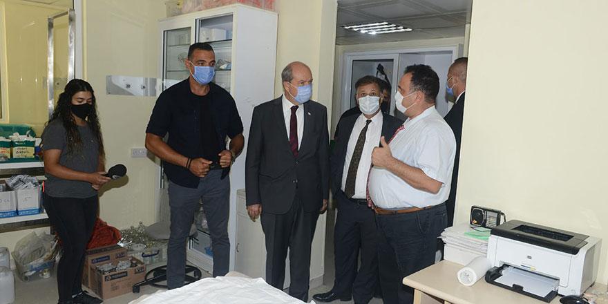 """Tatar: """"BRTK arkasına 100 yataklı pandemi hastanesi yapıyoruz"""""""
