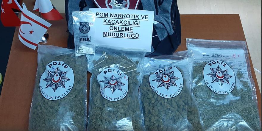 Lefkoşa'da narkotik operasyon, 5 tutuklu