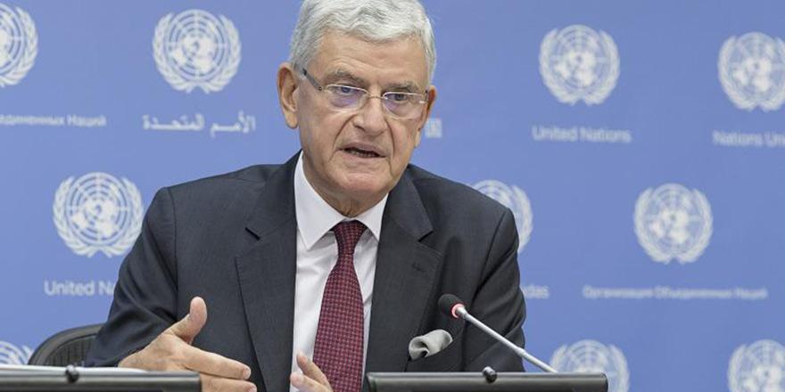 'Meselelere BM'nin bakış açısıyla bakacağım'