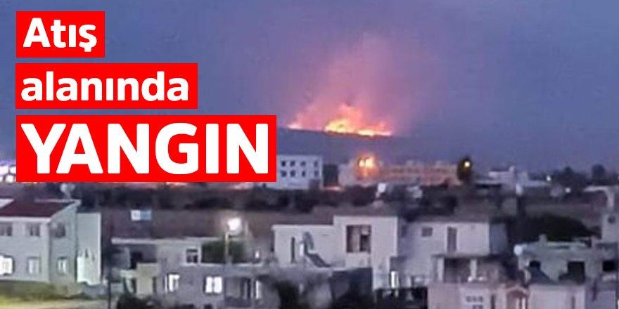 Beyköy'de yangın