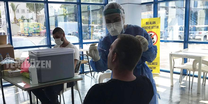 Girne'de ücretsiz PCR testi yapılacak