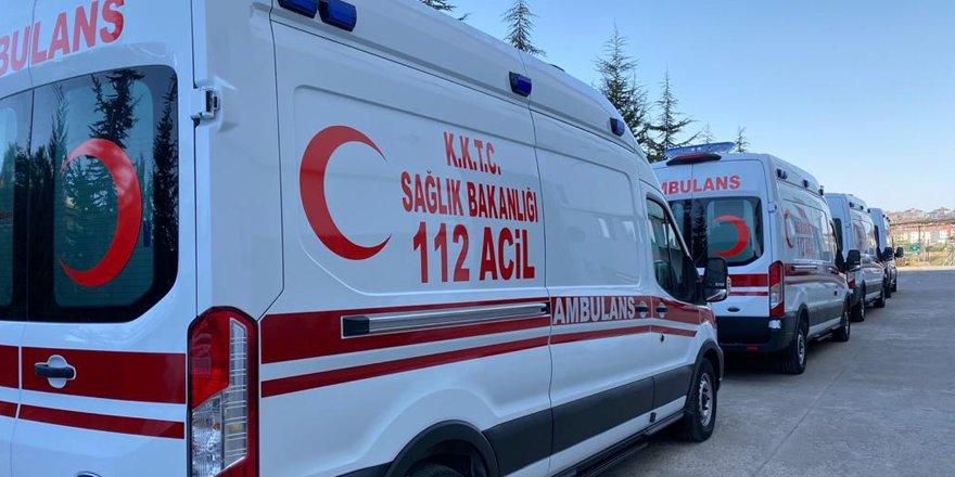 5 ambulans hafta içinde teslim edilecek