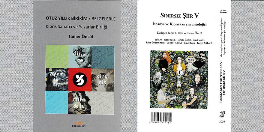 Kıbrıs Sanatçı ve Yazarlar Birliği'nden 2 yeni kitap