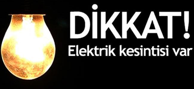 Yeni Erenköy bugün elektriksiz