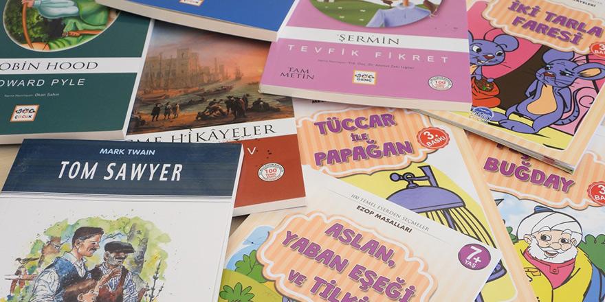 Şehit İlker Karter İlkokulu'na 128 kitap bağışladı