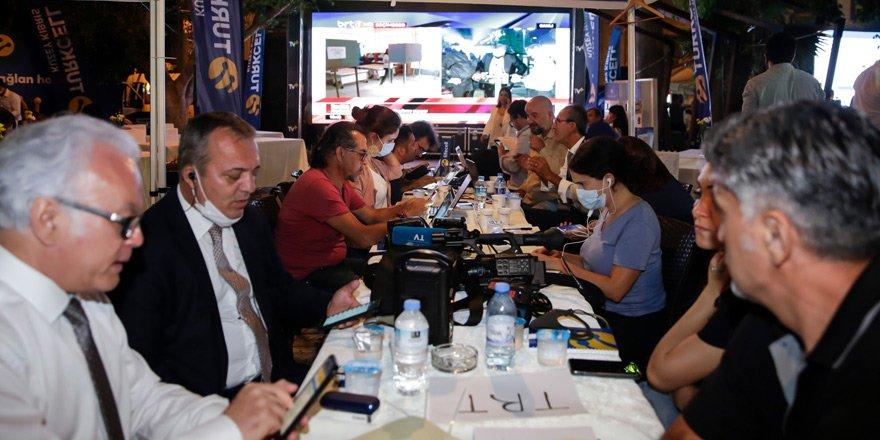 Seçim sonuçları Turkcell Teknoloji Alanı'nda takip edildi