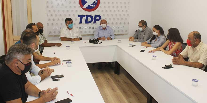 Sendikal Platform'dan TDP'ye ziyaret