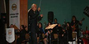 Lefkoşa Belediye Orkestrasından konserle destek