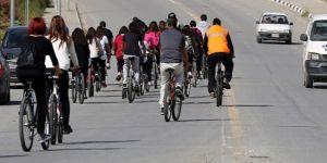 Bisikletli trafik eylemi