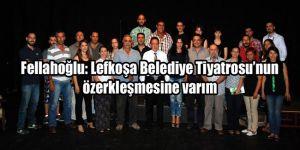 Fellahoğlu Belediye Tiyatrosunu ziyaret etti