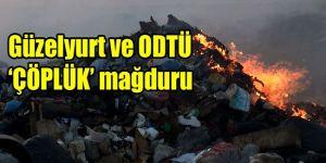 Kalkanlı Çöplüğü yanıyor