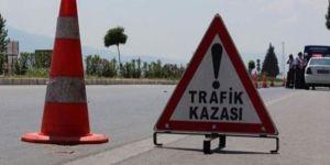 Lefkoşada trafik kazası