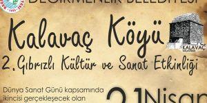 Kalavaç'ta festival zamanı