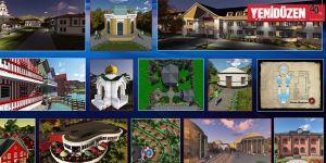 """Noel Baba Barış Köyü""""nün inşası başlıyor"""