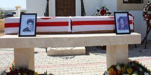 Mormenekşede iki kayıp şahsın cenaze töreni