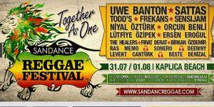 """Sandance Reggae Festivali"" izinsiz"