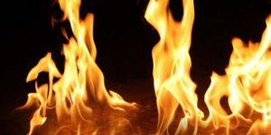 """""""Dilek Balonu"""" yangına neden oldu"""